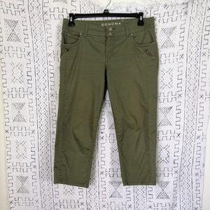 4/$30 Sonoma Modern Fit Crop Pants